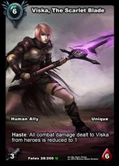 Viska, The Scarlet Blade